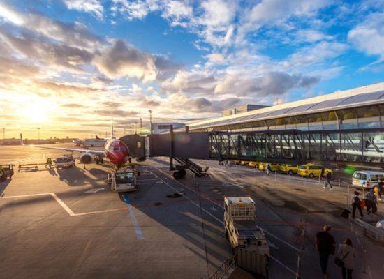 aeropuerto y manga